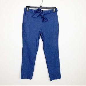 Banana Republic 'Avery' Blue Straight Leg Pants